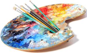 slikarska paleta