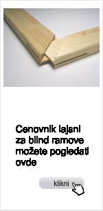 blind ramovi, lajsne